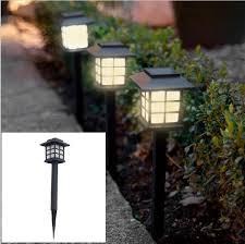waterproof led solar light outdoor lighting lampada street garden lamp