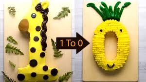 Number 1 Birthday Cake Designs Easy Cutting Hacks To Make Number Cakes