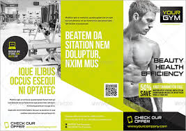 Gym Brochure Templates 100 Best Gym Brochure Templates Download Documents in PSD 2