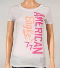 American Eagle Womens Shirt Size Chart Details About American Eagle Outfitters Ae Signature Graphic Tee Womens White T Shirt New Nwt