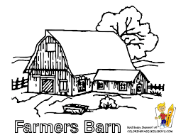 Tractor Coloring Pages Farm Tractors Free