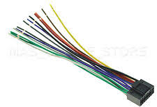 jvc car audio and video installation wire harness for jvc kw av50 kwav50 pay today ships today