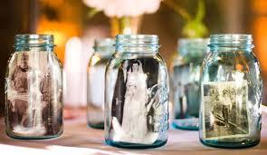 jar crafts home easy diy: mason jar photo display diy mason jars mason jar photo display