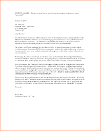 Project Proposal Cover Letters Software Project Proposal Cover Letter