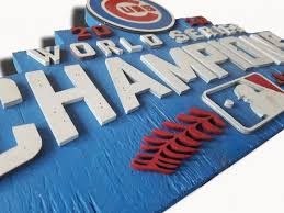 world series champions chicago cubs