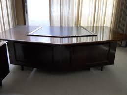 monteverdi young executive desk and credenza for