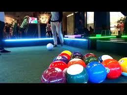 life size pool table playing life size pool youtube