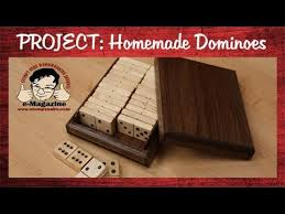 Homemade Wooden Games Make your own homemade wooden dominoes set with box YouTube 72