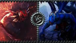 dota2 arena bloodseeker vs night stalker youtube