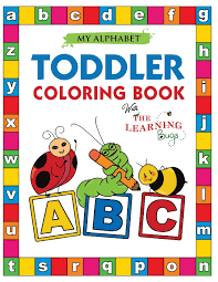 Free for a short time. Amazon Com My Alphabet Toddler Coloring Book With The Learning Bugs Fun Coloring Books For Toddlers Kids Ages 2 3 4 5 Activity Book Teaches Abc Letters Words For