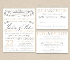 free printable wedding invitation wording templates them or print