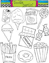 fast food clipart black and white. Brilliant White On Fast Food Clipart Black And White C