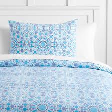 watercolor mosaic duvet bedding set with duvet cover duvet insert sham sheet set