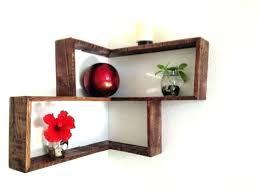 wooden wall shelves decorative wood shelf