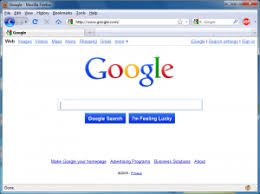 google home page design. screenshot of a preview the google home page design for 2010
