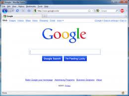 google home page design. screenshot of a preview the google home page design for 2010