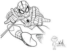 Spiderman Coloring Coloring Colouring Book Spider Man Coloring Books