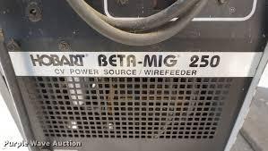 hobart genex beta mig 250 wire welder item dn9489 sold! Hobart Beta Mig 250 Welder Parts List at Hobart Beta Mig 250 Wiring Diagram