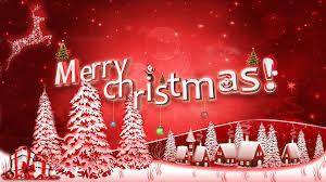 Red Christmas Wallpaper #6996942