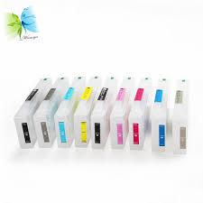 Winnerjet 9 Color 700ml T8041-T8049 Empty Refill Ink Cartridge For ...