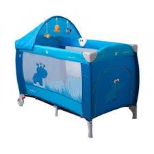 <b>Манеж кровать Coto Baby</b> Samba Lux голубой