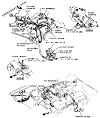 99 Camaro Throttle  Engine Compartment Diagram