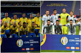 Copa America 2021 FINAL: Brazil vs ...