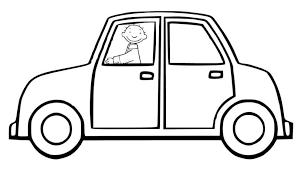 Auto Kleurplaat Peuter Woyaoluinfo