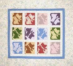 QDNW Scottie Dog quilt pattern & Baby Quilt: 43