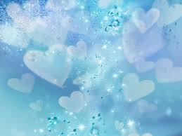 background biru muda blue hearts and stars backgrounds for powerpoint love ppt templates