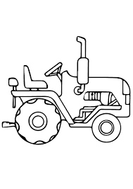 Tractor Coloring Pages Books 100 Free And Printable