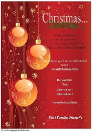 Create A Christmas Invitation From Make My Own Christmas Invitations
