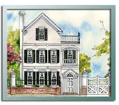 Authentic Historical Designs  LLC House Plan  nd Charleston Square    Authentic Historical Designs  LLC House Plan  nd Charleston Square  different florrplan