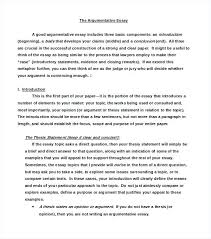 format of argumentative essay college research paper format  format