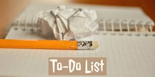 To Do List Or To Do List The To Do List Getting Too Long Heres What To Do Due