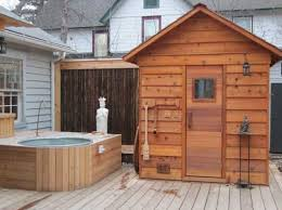 home sauna cost. How Much Does A Home Sauna Cost It To Build An Outdoor M