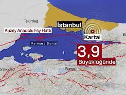 SON DAKİKA: İstanbul Kartal'da 3,9 büyüklüğünde deprem | Son depremler | NTV