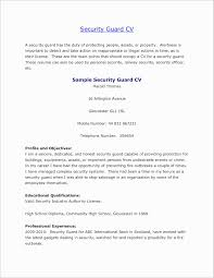 security cover letter unique security guard cover letter sles