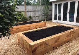 how to lay garden sleepers kebur