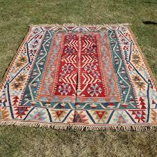 5 3 x 7 3 large turkish kilim