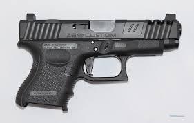 glock g26 l 19 slide 26 frame zev custom