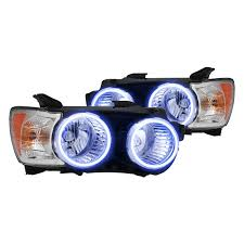 oracle lighting chrome headlights with halos preinstalled