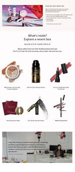 allure s monthly beauty box offers top trending editor tested makeup and beauty picks with over 50 value for only 10 new customers only full and