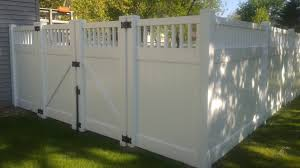 Vinyl privacy fence Shadow Box Montauk Vinyl Privacy Fence Authority Fence Montauk Vinyl Privacy Fence Authority Fence