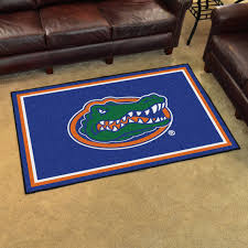 photo 4 of 9 add some color to the room with the florida gators 4 x 6 area