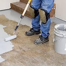 preparing to paint your garage floor