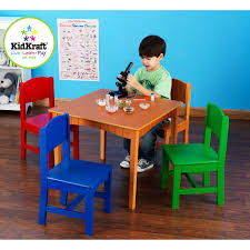 Table Set For Kids Kidkraft Nantucket Table And Chairs Set Multiple Colors