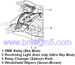 which of these is the dme main relay e46fanatics scott bmwgm5 com