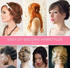 Bridesmaid Hairstyles 57 Amazing Braids Twists And Buns 24 Easy DIY Wedding Hairstyles Offbeat Bride