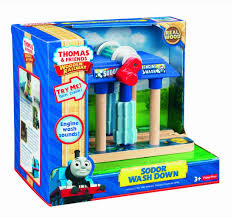 thomas the train wooden railway sodor wash down